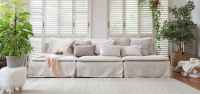 Luna | Affordable Linen Custom Slipcovers / Couch Covers