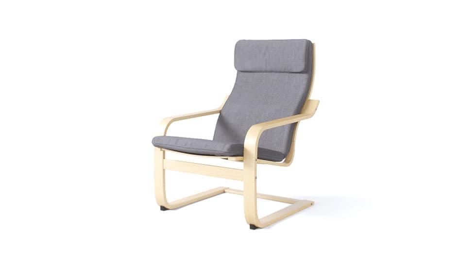 housse pour le fauteuil ikea poang