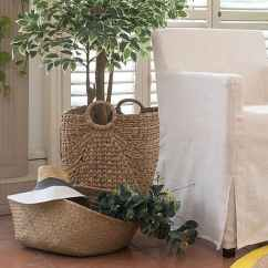Loose Chair Covers Ikea Cat Hammock Under Replacement Dining Bar Stool Slipcovers Nils Luna Flax Linen Blends Couch Slipcover
