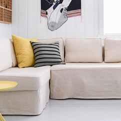 Manstad Sofa Bed Covers American Furniture Gray Sofas Ikea Hoes Voor De Slaapbank
