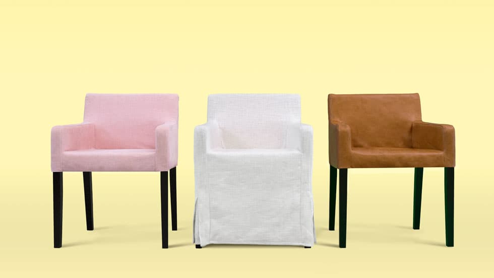 Custom Dining Chair Slipcovers  Get A Classic or Modern