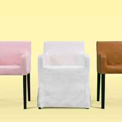 Dining Chair Covers Ace Bayou X Rocker Gaming Custom Slipcovers Get A Classic Or Modern Look Easily Madison Rose Luna Flax Savannah Saddle Panama Cotton Leather Linen Blends Couch