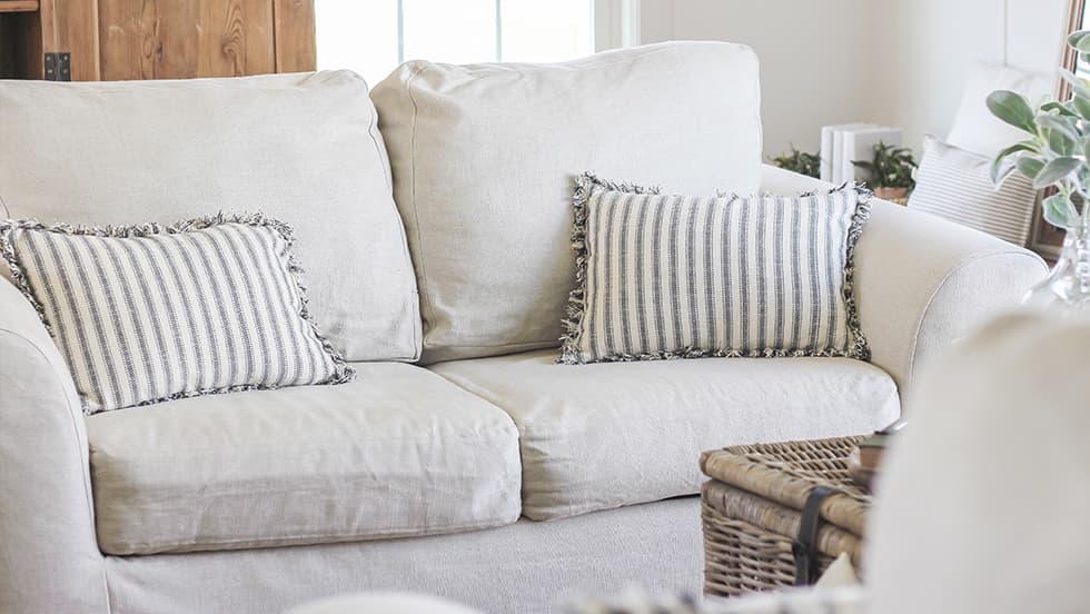 Custom Loveseat Slipcovers  Easier than Reupholstery