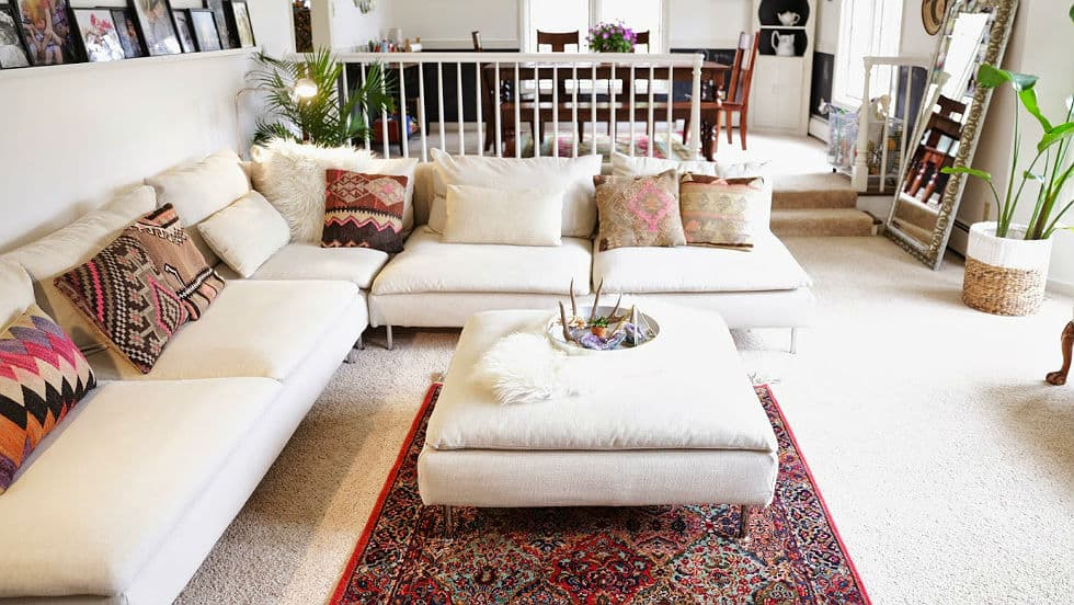 custom sectional sofa and bed combo slipcovers