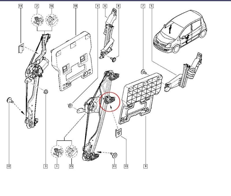 Schema Electrique Renault Modus