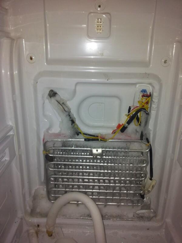 rparer frigo americain Samsung RS55 xd