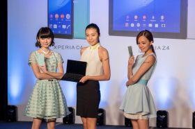 SONY Z3+ 手機 / C4 自拍神器 / Z4 Tablet 三機齊發