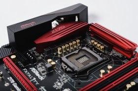 ASRock Fatal1ty Z170 Gaming K4主機板 / 紅黑熱血 一應俱全