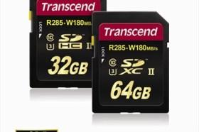 創見發表SDHC/SDXC UHS-II Class 3高階記憶卡,速度升級,更勝以往!