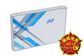 OCZ Trion 150 480GB固態硬碟開箱測試 / 東芝魂 15nm TLC閃存