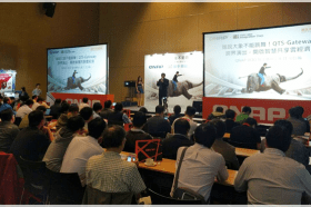 QNAP 與 IEI 聯手展出 QTS-Gateway 雲端級工業電腦跨界應用,多款先進軟體功能同步亮相