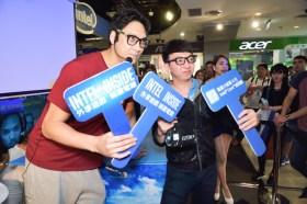 IntelGameTime電競特區於光華、三創 力邀玩家一同感受 第6代Intel Core處理器極致效能