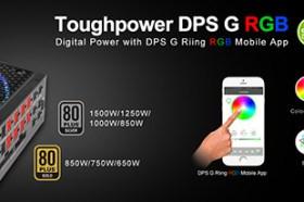 曜越推出『DPS G Riing RGB手機APP軟體』 專供曜越Toughpower DPS G RGB雲端智慧電源系列使用
