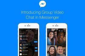 Messenger群組視訊通話功能上線,50人也能一起聊