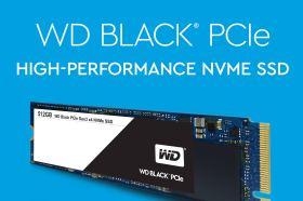 Western Digital 推出WD Black PCIe SSD 加速市場採用NVMe產品需求