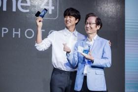 華碩「WE LOVE PHOTO」發表會ZenFone 4系列重磅登場 120°超廣角鏡頭與孔劉一起自拍戀攝影