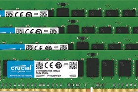 Crucial® DDR4 2933 MT/s Registered DIMM 正式上市