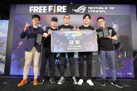 《Free Fire – 我要活下去》X ROG Phone名人爭霸戰總決賽