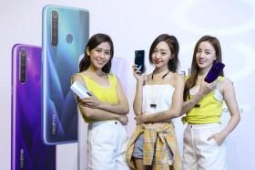 越級四鏡頭強悍登場 realme發表三款手機 XT帶來6400萬畫高C/P值