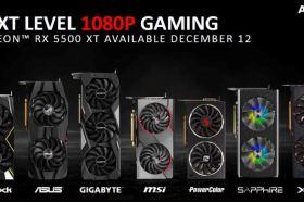 AMD發表Radeon RX 5500 XT顯示卡 台灣售價大家猜到了嗎?