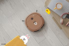 5.7公分超薄機身可愛熊大到處鑽!DEEBOT U3 LINE FRIENDS 熊大掃拖機器人開賣
