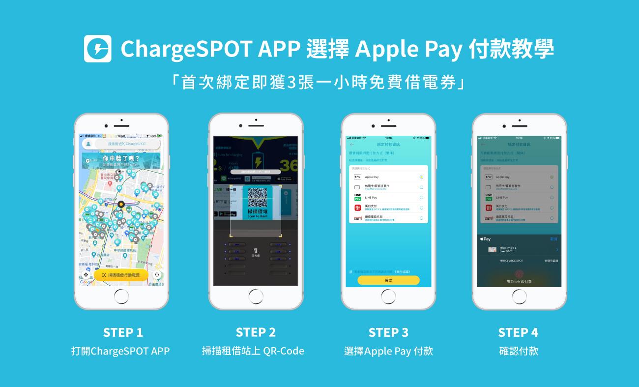 如何使用 ChargeSPOT綁定Apple Pay支付付款 - 電腦DIY
