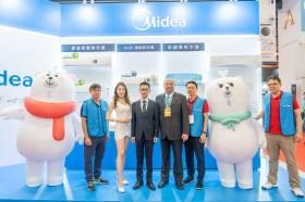 Midea美的集團首次參展台北電氣空調3C影音展