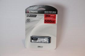 最經濟實惠提升電腦速度的好幫手 – Kingston A2000 M.2 NVMe SSD開箱評測