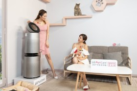 LG 推出 PuriCare 360° 空氣清淨機寵物功能增加版