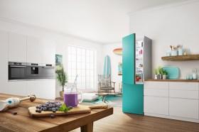 BOSCH Vario Style 全球首創可更換門片色彩冰箱在台上市