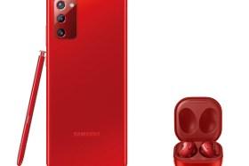 三星Galaxy Note20 5G與Galaxy Buds Live推出搶眼紅色版