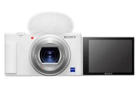 Sony 數位相機 ZV-1 推出時尚美型晨曦白版本 附贈多款迷人好禮搶攻網美的心