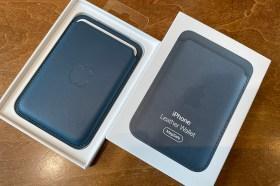 手感極佳!Apple MagSafe Leather Wallet 皮革卡套開箱與悠遊卡感應實測