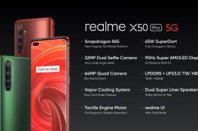realme揭曉新款旗艦手機realme X50 Pro 5G與AIoT戰略