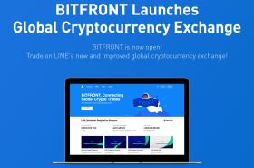 LINE代幣經濟擴大版圖 旗下數位貨幣交易所BITFRONT於美國正式上線