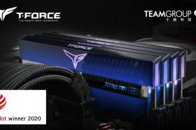獲德國紅點設計大獎肯定 十銓T-FORCE XTREEM ARGB 電競發光記憶體