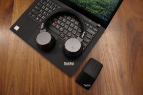 超具特色的耳機與滑鼠!ThinkPad X1 降噪音無線耳機與多功能滑鼠開箱試用報告