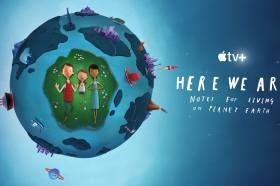 Apple TV+推出原創動畫短片 – 《Here We Are:歡迎來到這個美麗的星球》
