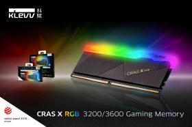速度效能再進化!科賦推出3600MHz版本CRAS X RGB與BOLT X電競超頻記憶體