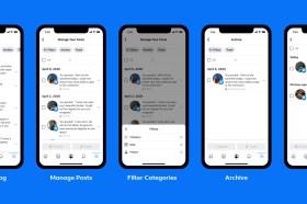 Facebook 推出動態管理工具 大量貼文使用體驗大為提升