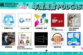 你也愛這些節目嗎?第 1 屆 KKBOX 年度風雲 Podcast 與百大名單正式揭曉