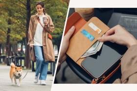 整合時尚包和手機!必敗的Moshi SnapTo Crossbody Wallet 磁吸式斜背三用手機包