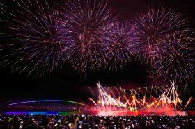 2021澎湖花火節盛大開幕!LINE FRIENDS陪大家看精彩的無人機與煙火秀