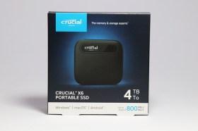 最迷你+高速的外接儲存裝置!Crucial X6 外接式4TB SSD 開箱評測