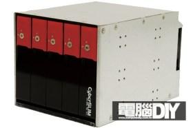 CyberSLIM S605 3.5吋五槽硬碟內接盒