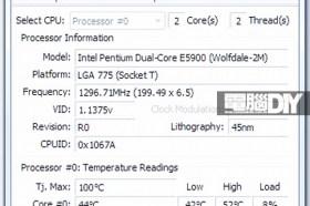 系統工具軟體Core Temp 0.99.8