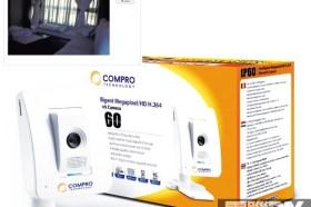居家安全再升級COMPRO IP60 無線網路攝影機