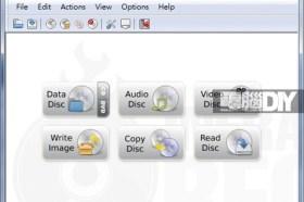輕巧的InfraRecorder 0.52燒錄軟體