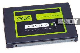 中規中矩的中階產品OCZ AGILITY 3 120GB固態硬碟