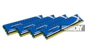 一舉突破極限Kingston HyperX DDR3-2400 8GB四通道記憶體